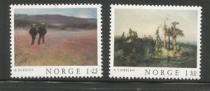 NORWAY, 704-705, MH, MEN LANDSCAPE