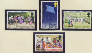 Pitcairn Islands Stamps Scott #123 To 126, Mint Lightly Hinged - Free U.S. Sh...