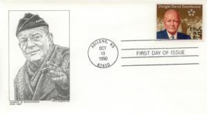 1990 Dwight Eisenhower Centenary (Scott 2513)  DeSpain #6