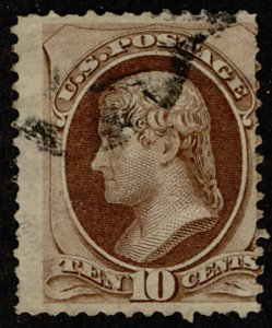 US #161 F/VF face free cancel, super nice color,  Good eye appeal!