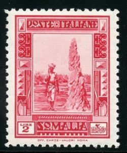 SOMALIA   SCOTT#142  MINT  NEVER  HINGED --SCOTT VALUE $935.00