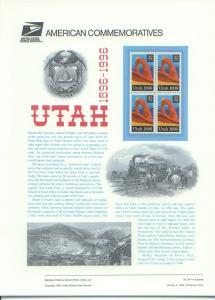 Utah Statehood 1896-1996, Set 4*