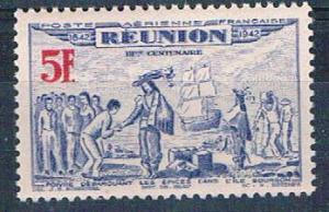 Reunion C13D MNH De Poivre 1943 (R0463)+