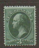United States #184 Mint No Gum
