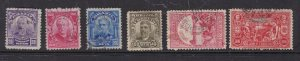 BRAZIL ^^^^1906-09  used CLASSICS    $$@ dcc329bza9