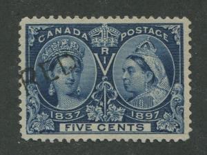 CANADA #54 USED VF