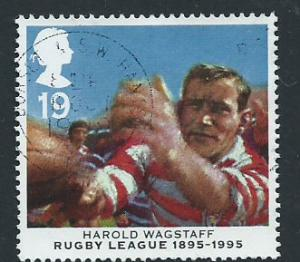 GB QE II  SG 1891 VFU 1995  Rugby League