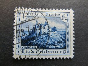 A4P26F60 Letzebuerg Luxembourg 1921-34 1fr used
