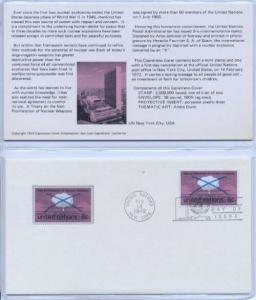 UN 227 8c NUCLEAR WEAPONS '72 - Capistrano