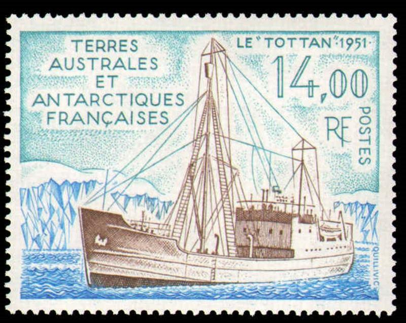 FRENCH SOUTHERN & ANTARCTIC TERRITORY #171 Mint NH