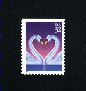 USA # 3123  2 used 1997 PD .08
