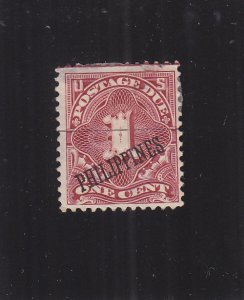 Philippines: Sc #J1, MH, Heavy Hinged (S17830)