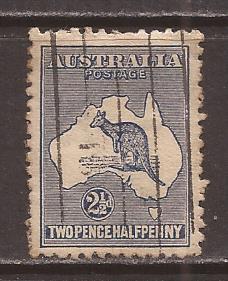 Australia scott #4 used stock #T1306