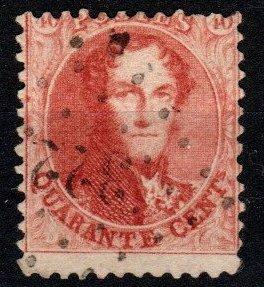 Belgium #16 Used CV $25.00 (X9608)