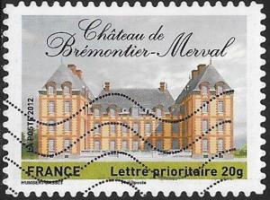 France 4247 Used - ‭‭‭Historic Residences - Château de Brémontier-Merval