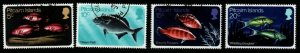 PITCAIRN ISLANDS SG111/4 1970 FISH FINE USED