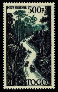 1954 Togo #C20 Airmail - OGNH - VF - CV$60.00 (ESP#4153)
