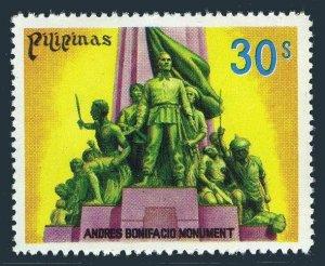 Philippines 1351 block/4,MNH.Michel 1229. Andres Bonifacio Monument,1978.