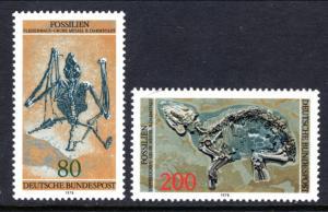 Germany 1275-1276 Fossils MNH VF