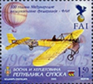 Serbian Rep. (B&H) / 2005 - International Aviation Federation (Plane), MNH