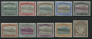Dominica KEVIi 1903 complete set mint o.g. hinged