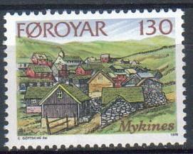 Faroe Islands SC# 32  MNH SCV$0.25