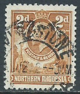 Northern Rhodesia, Sc #4, 2d Used