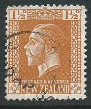 New Zealand SG 447 Used perf 14
