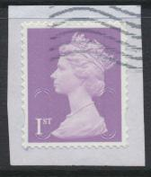 Great Britain - 1st Security Machin Used 2015 - No Source Code - Date Code 15...