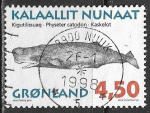 Greenland ~ Scott # 306 ~ Used