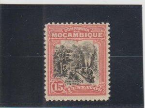 Mozambique Company  Scott#  130  MH  (1918 Scene on Beira Railroad)
