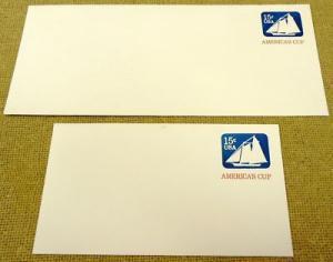 U598, 15c U.S. Postage Envelopes qty 2