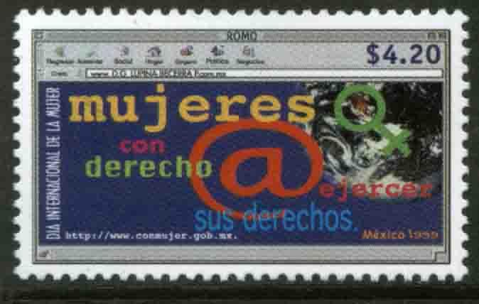 MEXICO 2113, National Program for Women. MINT, NH. VF. (69)