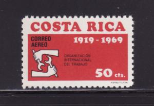 Costa Rica C493 MNH ILO (D)