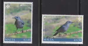 Malta, Fauna, Birds, EUROPA MNH / 2019