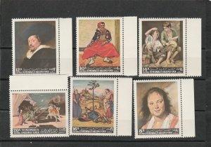 Yemen (Mutawakelite Kingdom) Mi 290-295  MNH