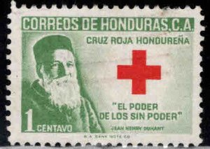 Honduras  Scott RA6 Used Red Cross Nurse stamp