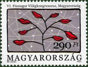 Hungary 2012 6th World Congress of Finno-Ugric Languages mint**