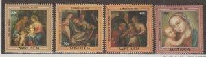 St. Lucia Scott #897-900 Stamps - Mint NH Set