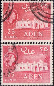Aden #51,51a Used