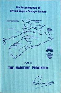 Robson Lowe NEW BRUNSWICK NOVA SCOTIA PRINCE EDWARD ISLAND Canada Postal History