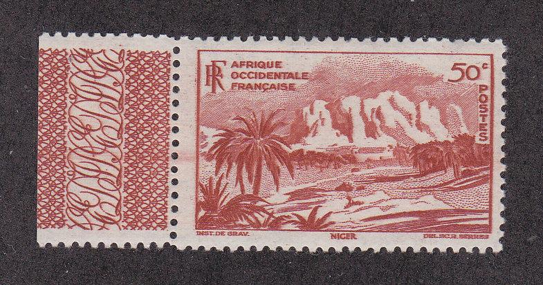 French West Africa Scott #39 MNH