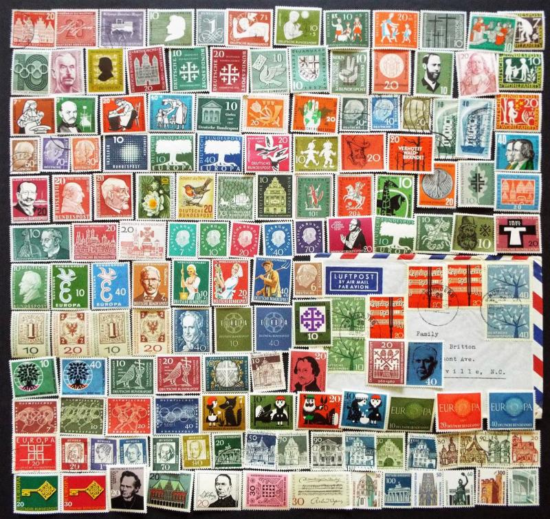 Germany Stamps 1956 and Later