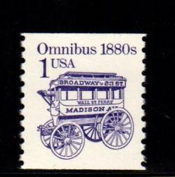 #2225 Omnibus Redesigned Large Block tag - MNH