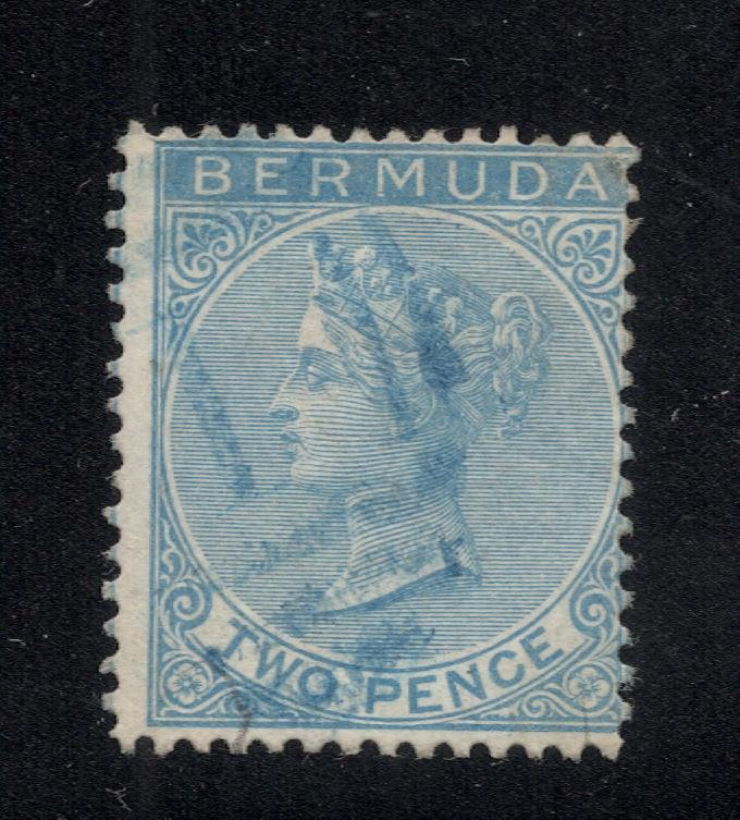 Bermuda #2 Blue - Blue Cancel