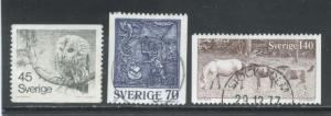 Sweden 1212-14  Used