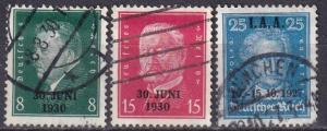 Germany #363-5 F-VF  Used CV $195.00 Z580