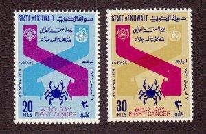 Kuwait Scott #502-503 MH