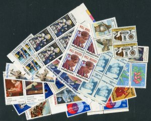 US discount postage , 4 stamp combo 55 cent rate FV = $5.00