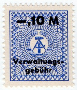 (I.B) East Germany Revenue : Administration Fee 10pf